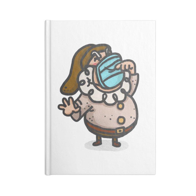 Quarantine Accessories Blank Journal Notebook by Rodrigobhz