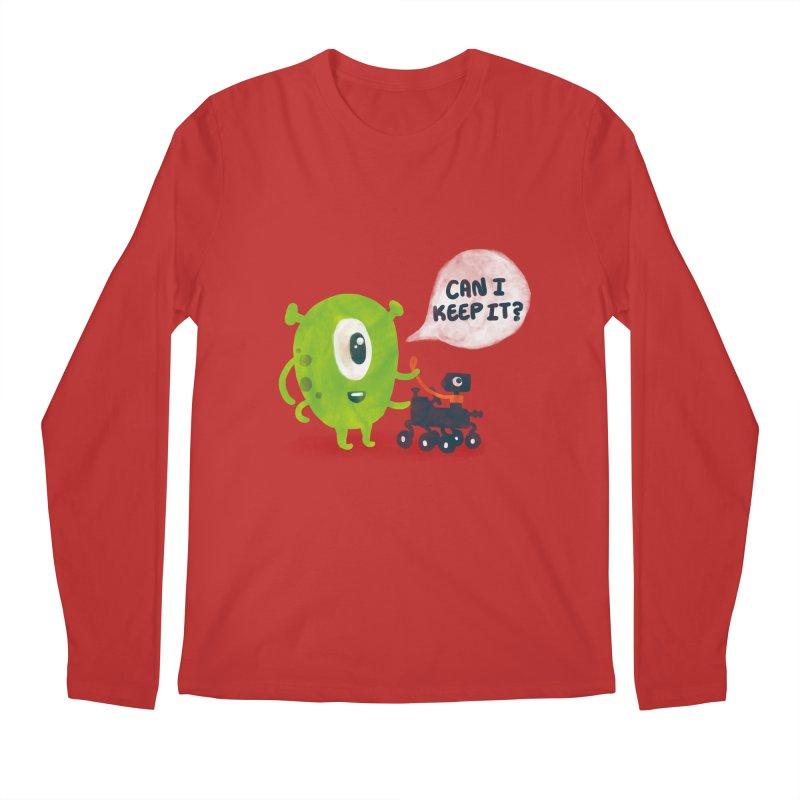 Meanwhile on Mars Men's Longsleeve T-Shirt by Rodrigobhz