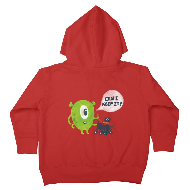 Meanwhile on Mars Kids Toddler Zip-Up Hoody by Rodrigobhz
