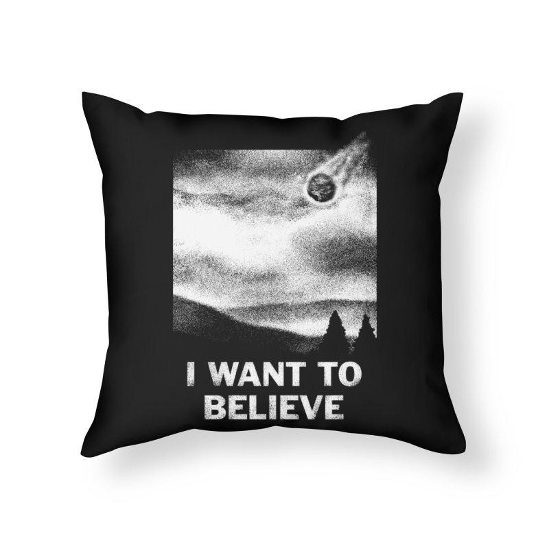 Please Home Throw Pillow by Rodrigobhz