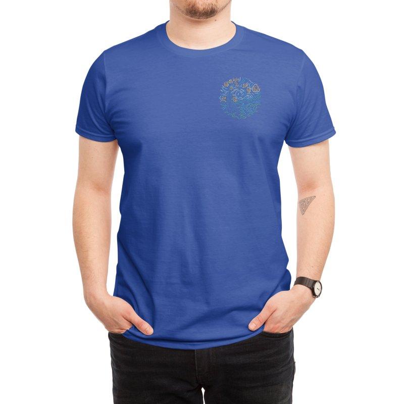 Starry night Men's T-Shirt by Rodrigobhz