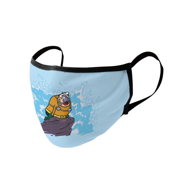 The Little Mermaid Man Accessories Face Mask by Rodrigobhz