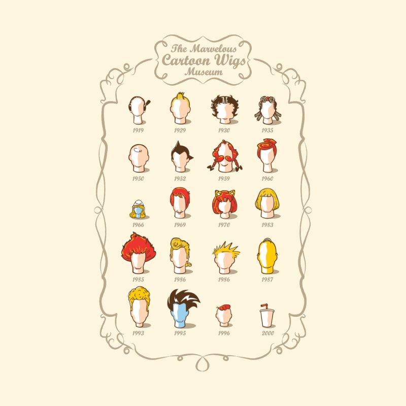 The Marvelous Cartoon Wigs Museum by Rodrigobhz