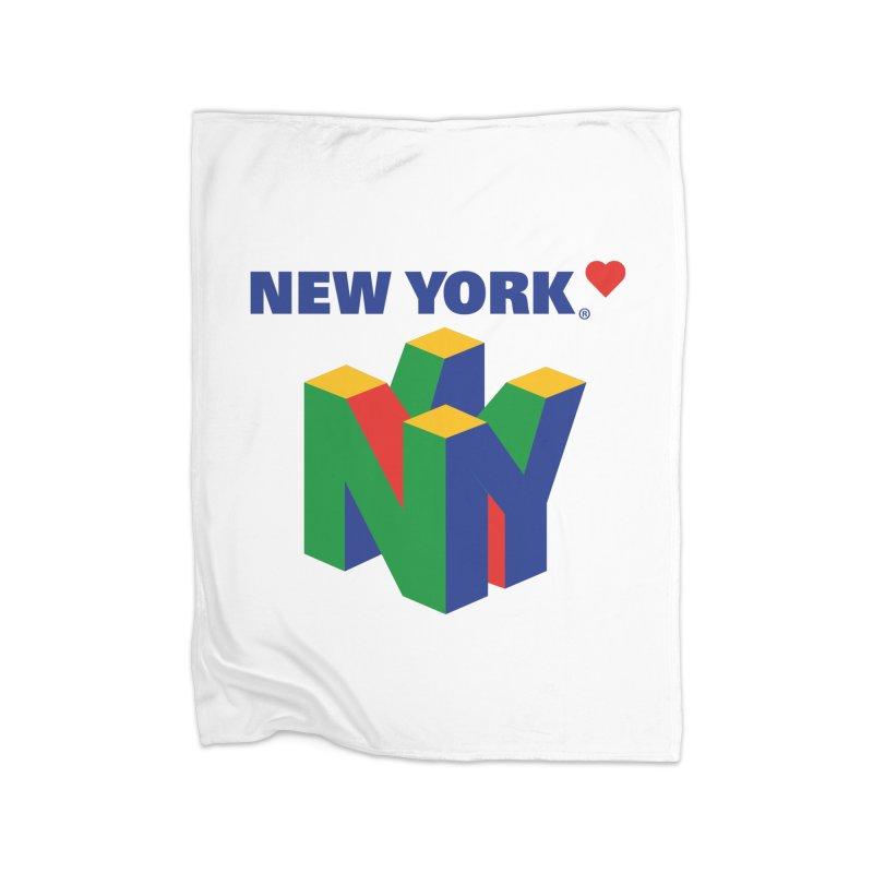 NYntendo Home Blanket by Rodrigobhz