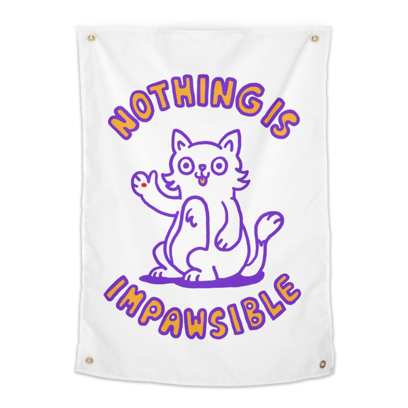 Nothing is impawsible Home Tapestry by Rodrigobhz