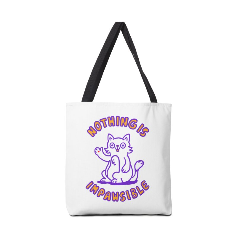 Nothing is impawsible Accessories Bag by Rodrigobhz