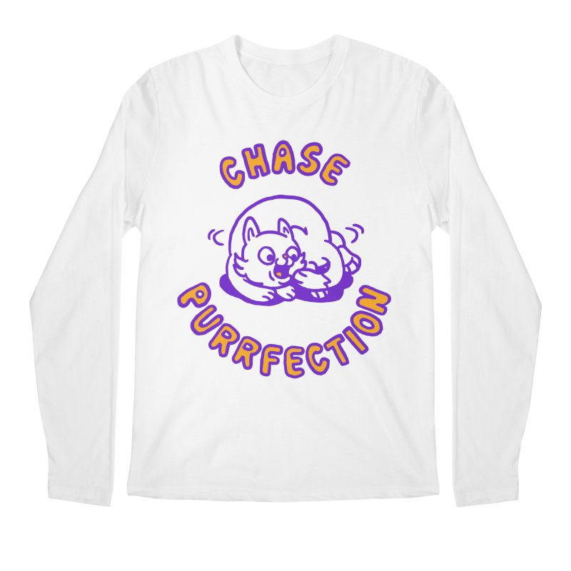 Chase purrfection Men's Longsleeve T-Shirt by Rodrigobhz