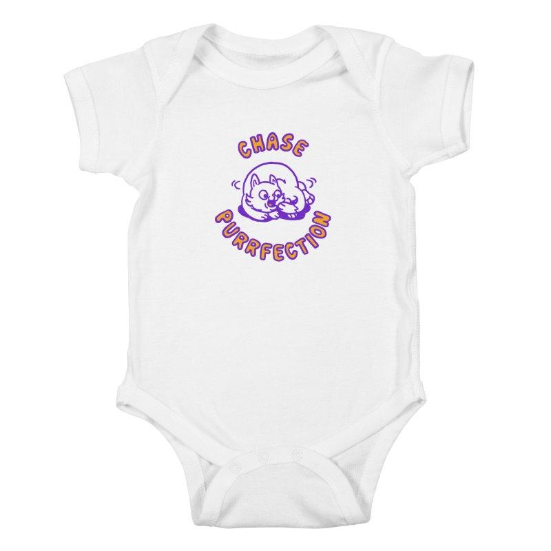 Chase purrfection Kids Baby Bodysuit by Rodrigobhz