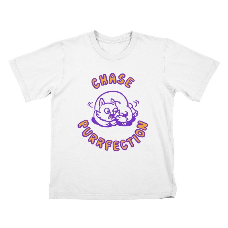 Chase purrfection Kids T-shirt by Rodrigobhz