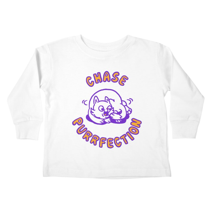Chase purrfection Kids Toddler Longsleeve T-Shirt by Rodrigobhz