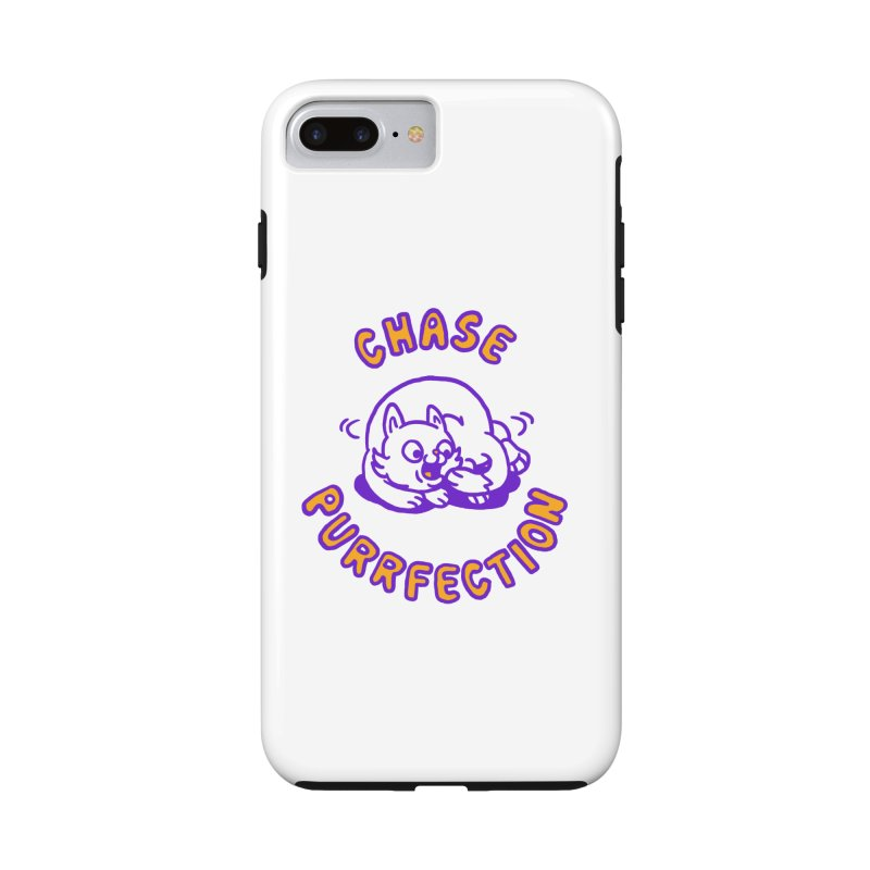 Chase purrfection in iPhone 7 Plus Phone Case Tough by Rodrigobhz