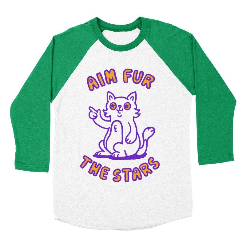 Aim fur the stars Women's Baseball Triblend T-Shirt by Rodrigobhz