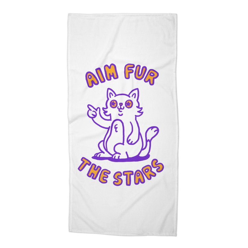 Aim fur the stars Accessories Beach Towel by Rodrigobhz