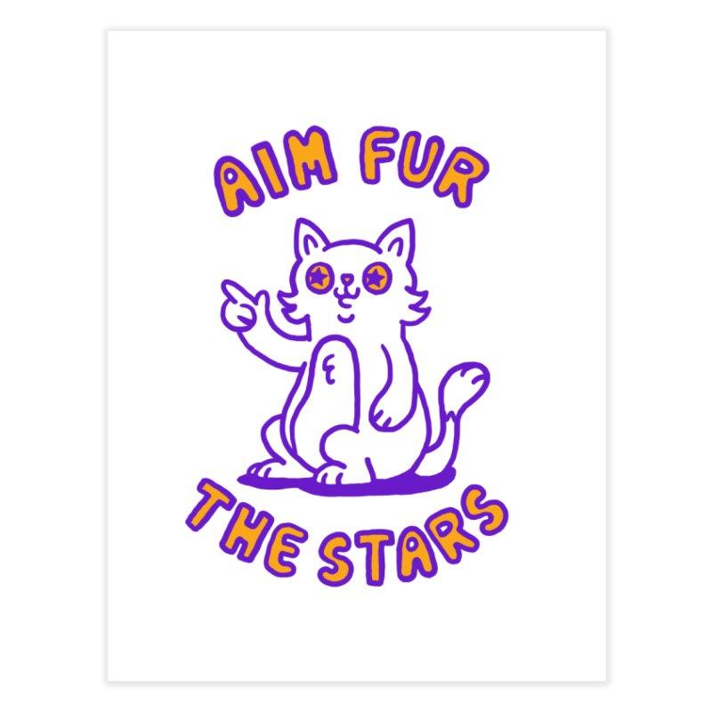 Aim fur the stars Home Fine Art Print by Rodrigobhz