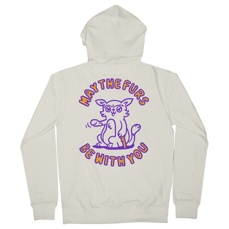May the furs be with you Women's Zip-Up Hoody by Rodrigobhz