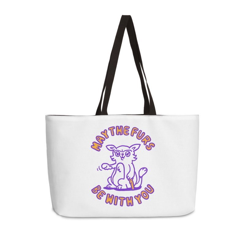 May the furs be with you in Weekender Bag by Rodrigobhz