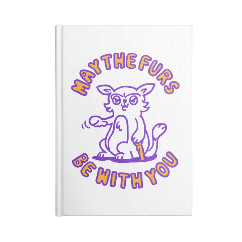 May the furs be with you Accessories Notebook by Rodrigobhz