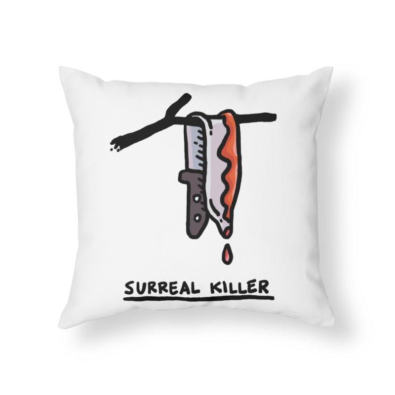 Surreal Killer Home Throw Pillow by Rodrigobhz