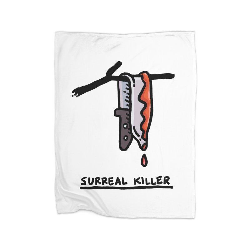 Surreal Killer Home Blanket by Rodrigobhz