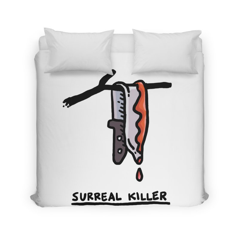 Surreal Killer Home Duvet by Rodrigobhz