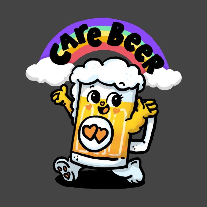 Care Beer Men's T-Shirt by Rodrigobhz