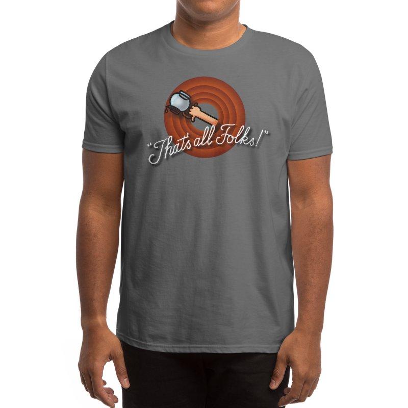 That's all folks! Men's T-Shirt by Rodrigobhz