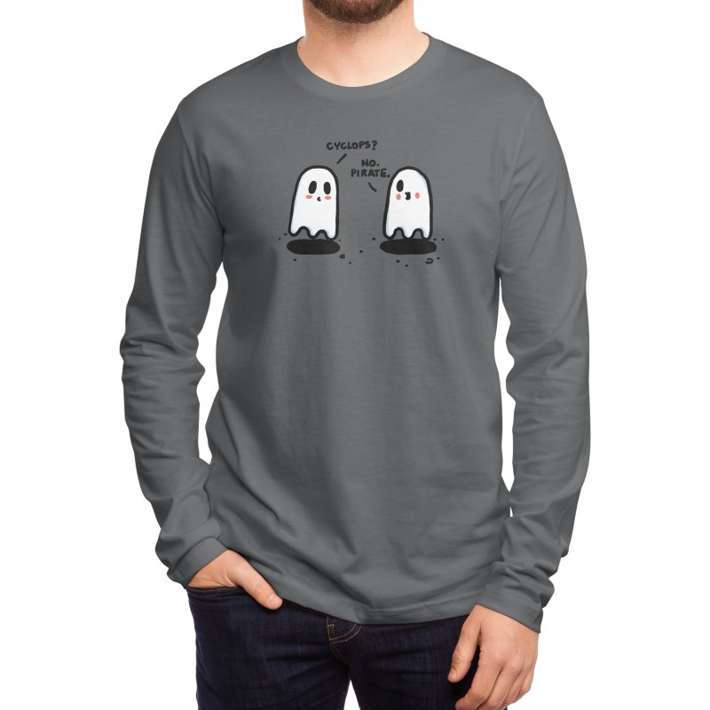 Pirate Men's Longsleeve T-Shirt by Rodrigobhz
