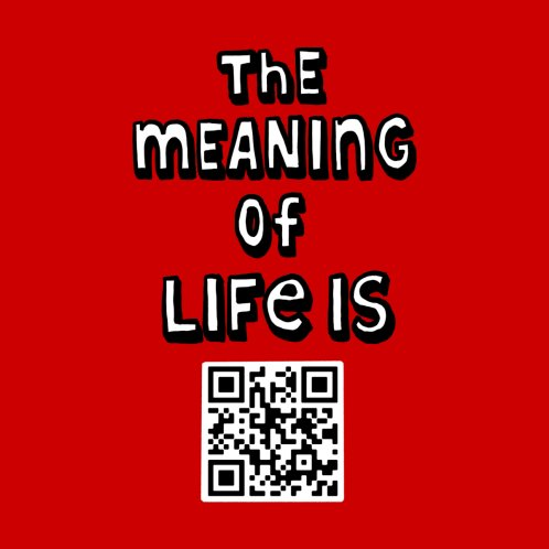 Design for The meaning of life