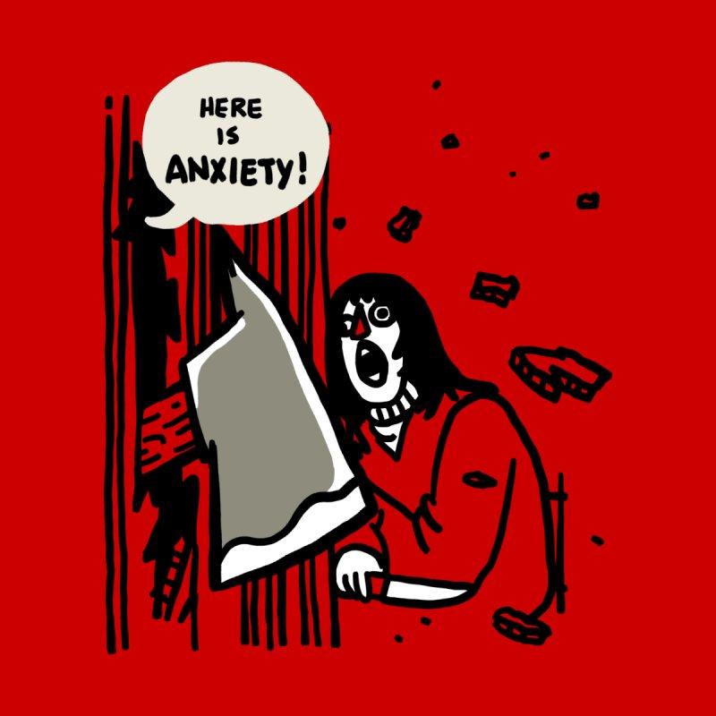 Here's Anxiety! Accessories Neck Gaiter by Rodrigobhz