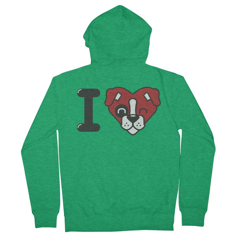 Dog person Women's Zip-Up Hoody by Rodrigobhz