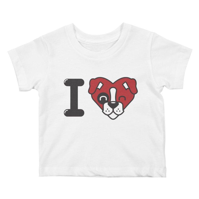 Dog person Kids Baby T-Shirt by Rodrigobhz