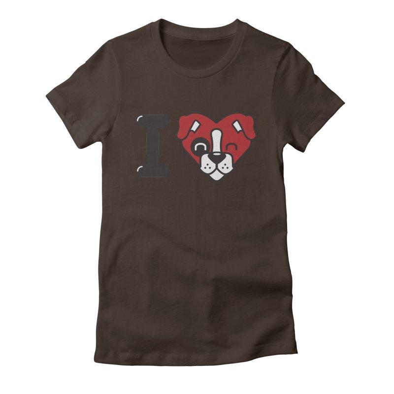Dog person Women's T-Shirt by Rodrigobhz