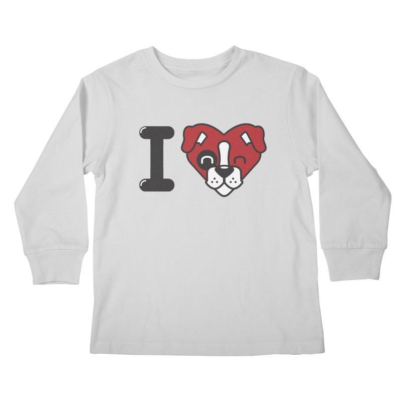 Dog person Kids Longsleeve T-Shirt by Rodrigobhz