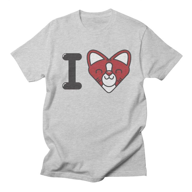Cat person Men's T-Shirt by Rodrigobhz