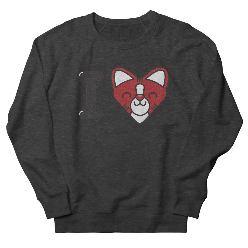 Cat person Men's Sweatshirt by Rodrigobhz