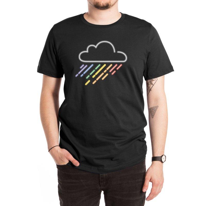 Rain-bow Men's T-Shirt by Rodrigobhz