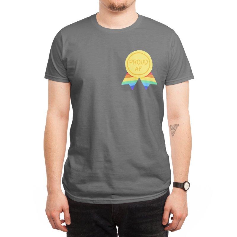 Proud AF Men's T-Shirt by Rodrigobhz