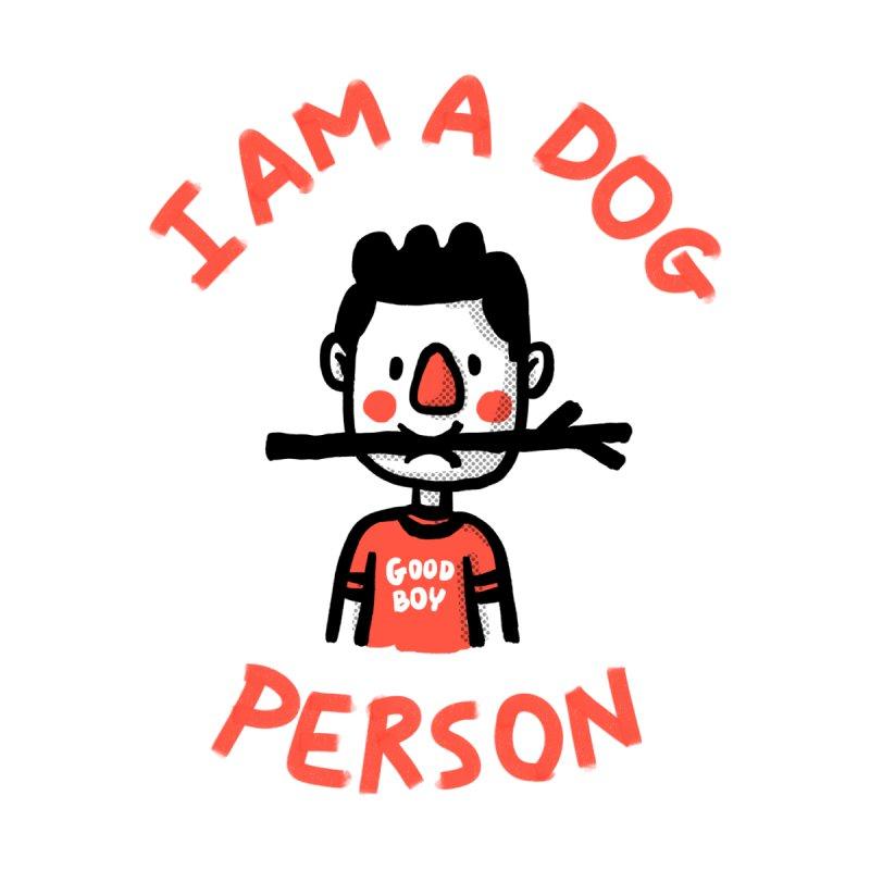 I am a dog person Men's T-Shirt by Rodrigobhz
