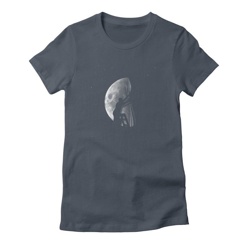 Half Moon Women's T-Shirt by Rodrigobhz