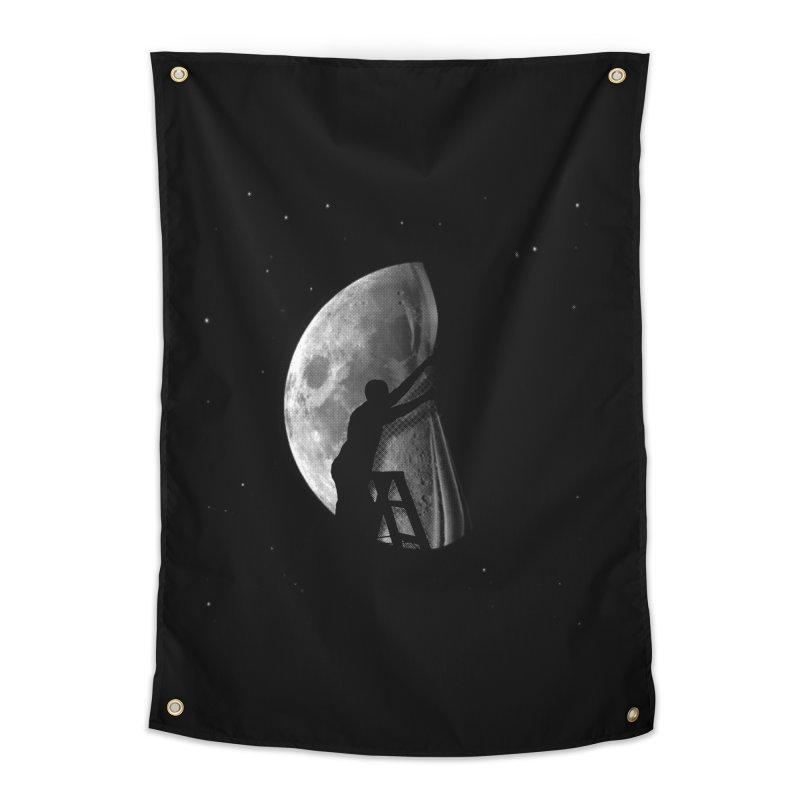 Half Moon Home Tapestry by Rodrigobhz