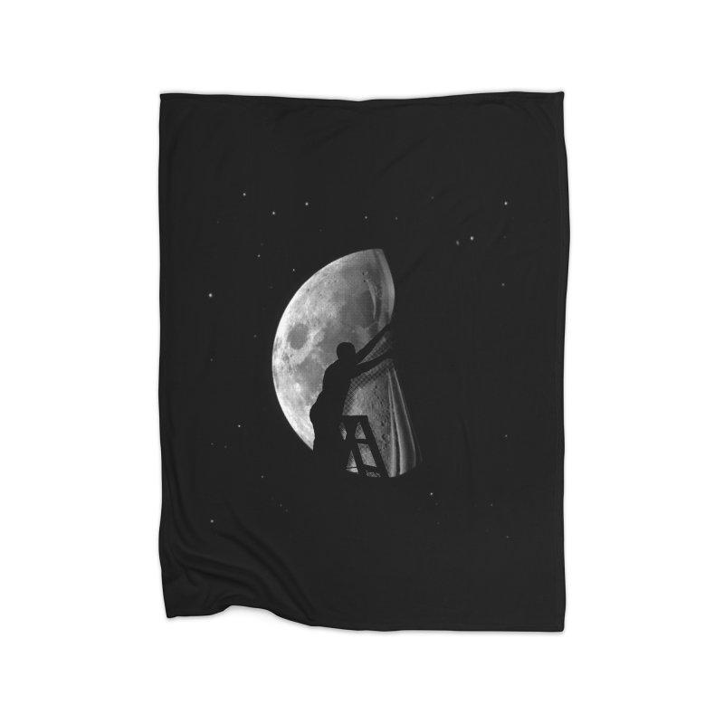 Half Moon Home Blanket by Rodrigobhz