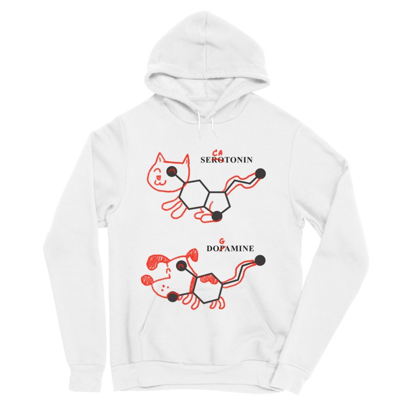 The Hormones of Happiness Men's Sponge Fleece Pullover Hoody by Rodrigobhz
