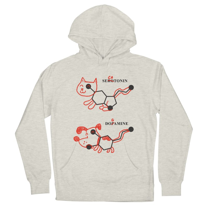 The Hormones of Happiness Women's French Terry Pullover Hoody by Rodrigobhz