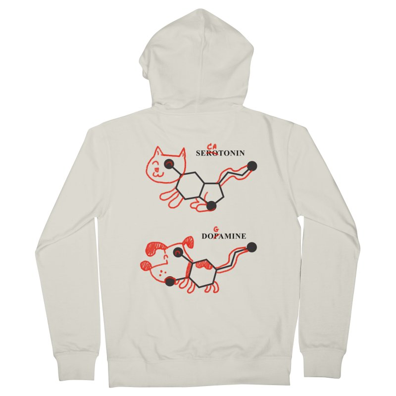 The Hormones of Happiness Men's Zip-Up Hoody by Rodrigobhz