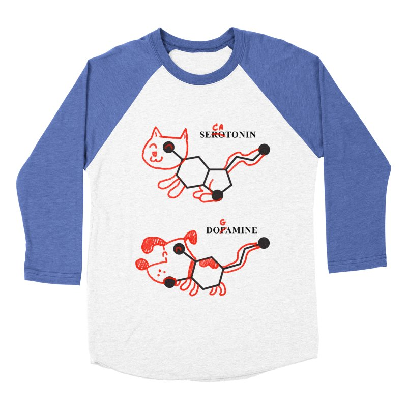 The Hormones of Happiness Men's Baseball Triblend Longsleeve T-Shirt by Rodrigobhz