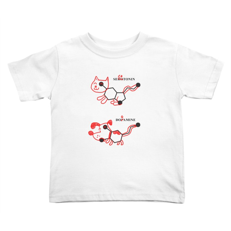 The Hormones of Happiness Kids Toddler T-Shirt by Rodrigobhz