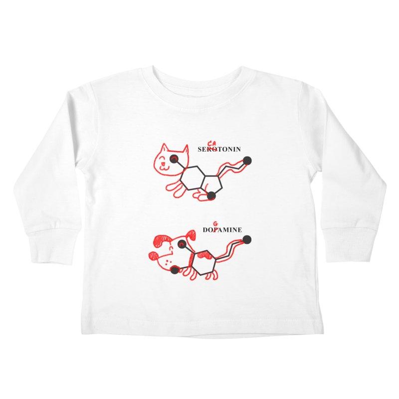 The Hormones of Happiness Kids Toddler Longsleeve T-Shirt by Rodrigobhz