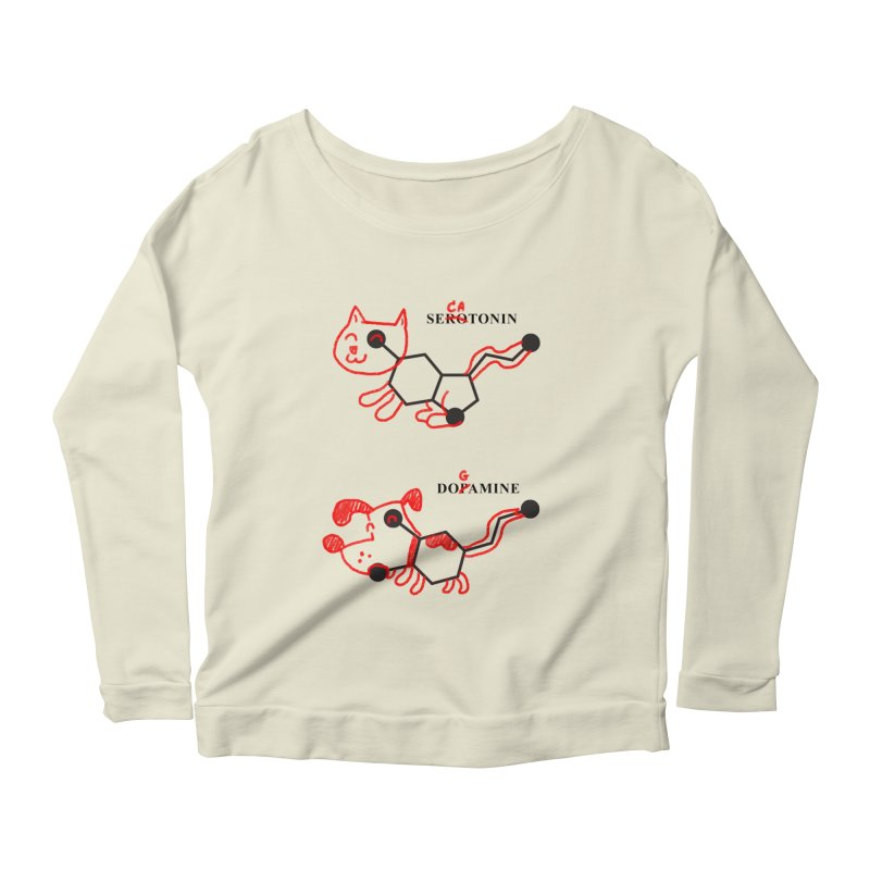 The Hormones of Happiness Women's Longsleeve Scoopneck  by Rodrigobhz