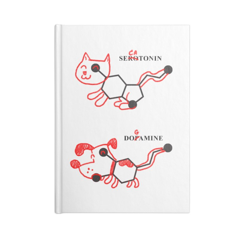 The Hormones of Happiness Accessories Notebook by Rodrigobhz