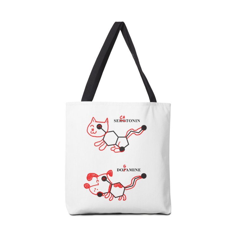 The Hormones of Happiness Accessories Bag by Rodrigobhz